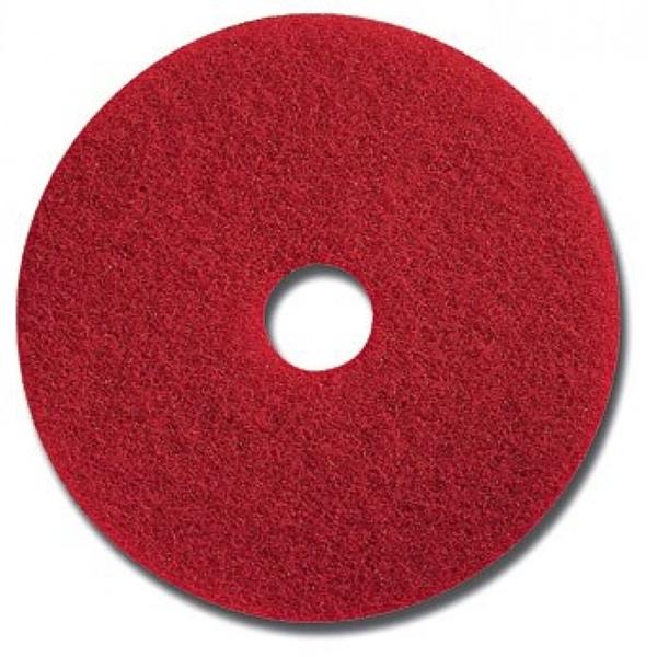 แผ่นขัด 3M สีแดง 5100 ขนาด  14 นิ้ว