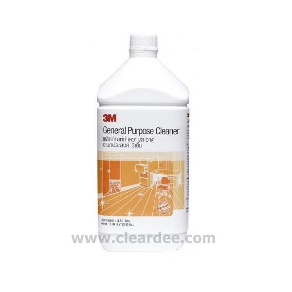 น้ำยาทำความสะอาดอเนกประสงค์ 3M - 3.8 ลิตร ( 4 Gal.)