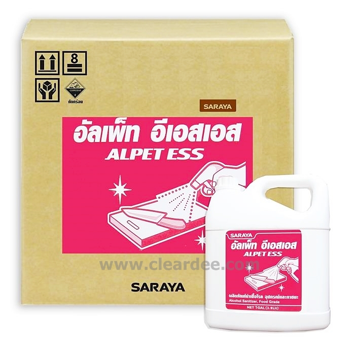 น้ำยาฆ่าเชื้อโรคผสมแอลกฮอล์ Alpet ESS ( 4 Gallon )