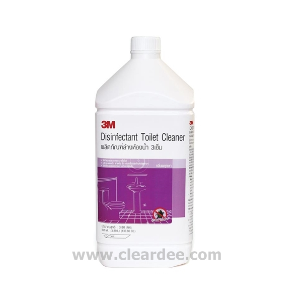 น้ำยาล้างห้องน้ำ 3M กลิ่น พฤกษา - ขนาด 3.8 L. ( 4 Gal. )