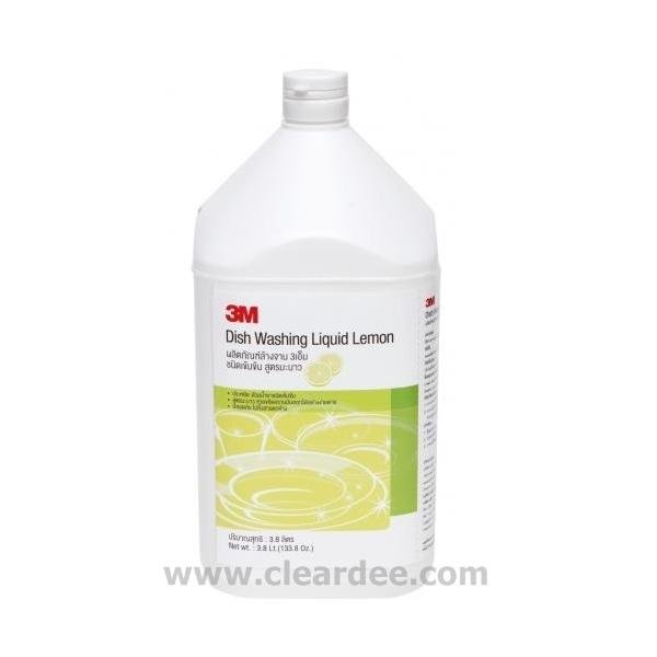 น้ำยาล้างจานชนิดเข้มข้น สูตรมะนาว - ขนาด 3.8 ลิตร