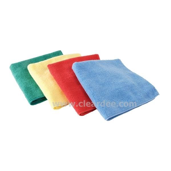 ผ้าเช็ดทำความสะอาดไมโครไฟเบอร์ 40x40 ซม.