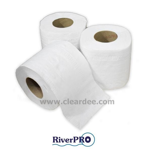 """กระดาษชำระม้วนเล็ก RiverPro """"Special"""" ปริมาณ 120 ม้วน ( 17m. )"""